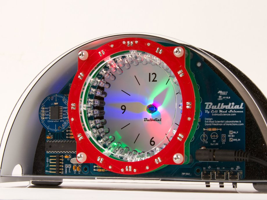 RGB Bulbdial Clock Kit