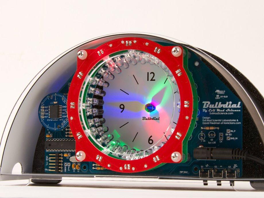 RGB Bulbdial Clock Kit