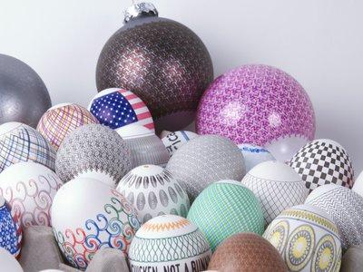 Peintre à boules